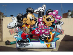 P-28 Castillo Mickey y Minnie
