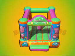 Ch-27 Castillo Inflable Peppa Pig