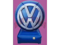Pu-06 Logo publicitario Volkswagen
