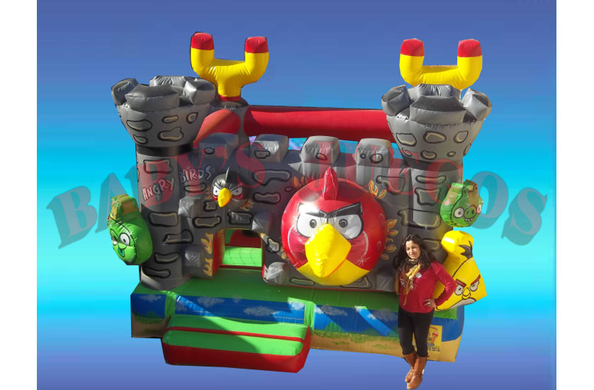 P-15 Castillo Angry Birds