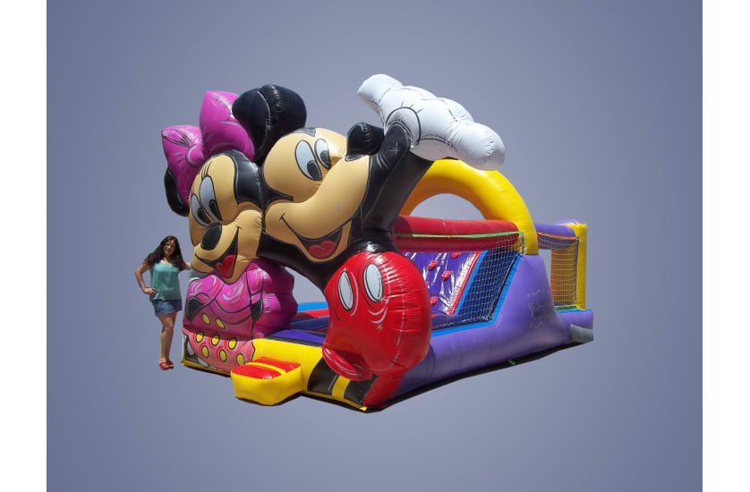 CM-15 Mickey y Minnie con tobogán interno
