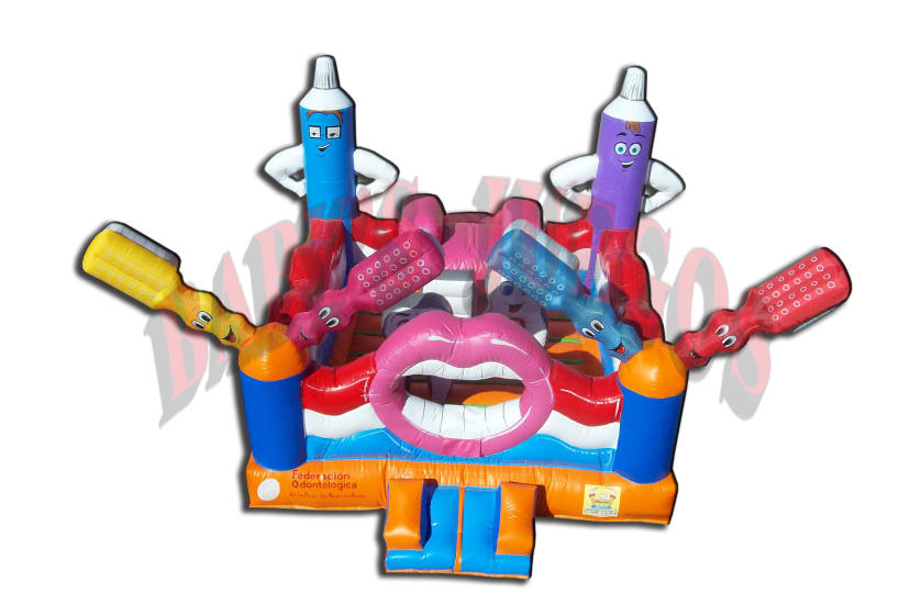 "Pu-08 Inflable publicitario ""Baby Dental"""